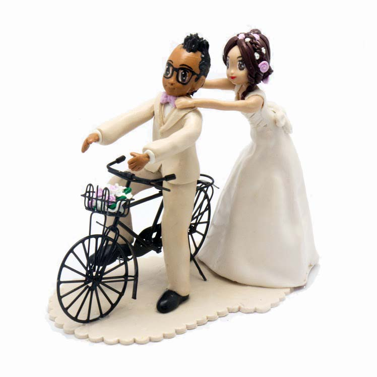 cake topper - Mariages passion